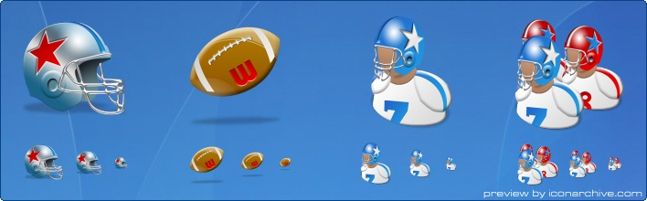 NFL Icons by Iconshock - Icon Sets