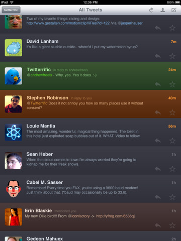 Twitterrific for Twitter By The Iconfactory