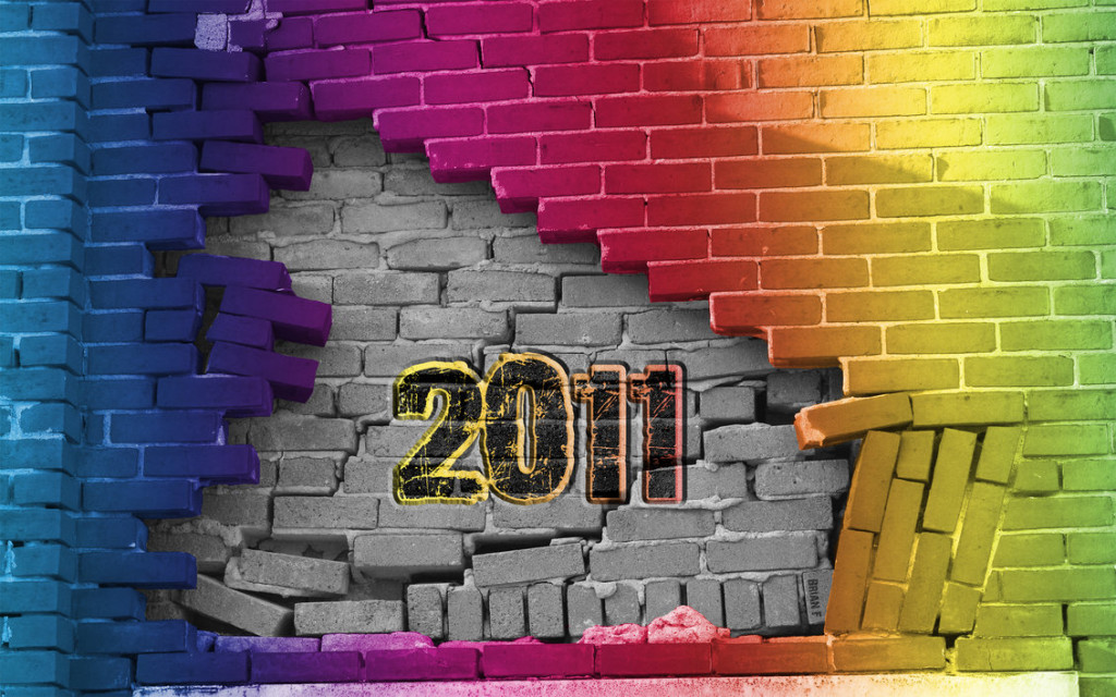 2011 Bricks Desktop Wallpaper by ~OminousStorm