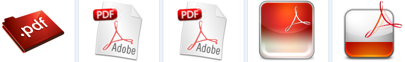 Adobe PDF Icons at-findicon