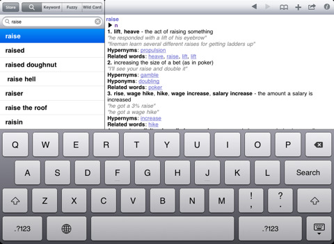 Advanced English Dictionary and Thesaurus By Mobile Systems