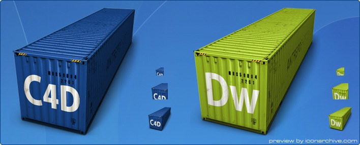 Container Icons by Antrepo