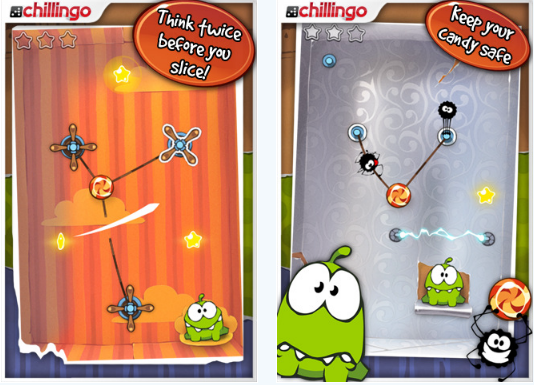 Cut the Rope By Chillingo Ltd