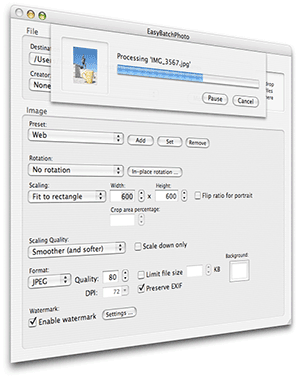 EasyBatchPhoto batch image processing made easy