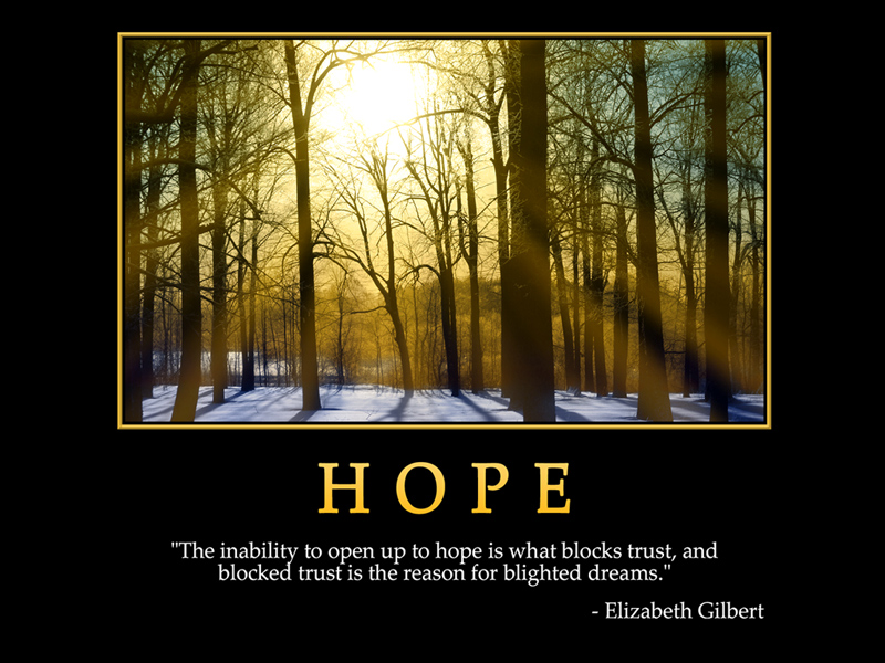 HOPE Elizabeth Gilbert