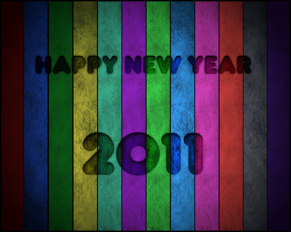 Happy new year 2011 by *Pure-Flake