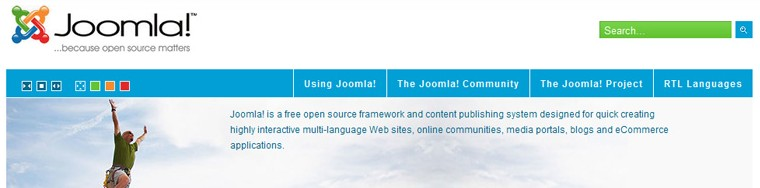 JM-0013, Free template for joomla 1.6 - Joomla-Monster.com