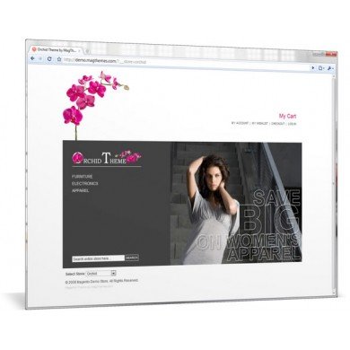 Orchid Magento Theme