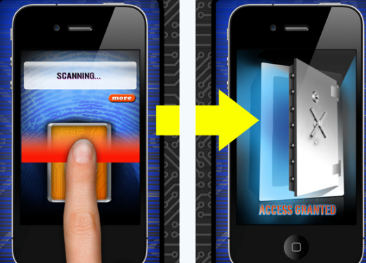 Phone Security - Fingerprint Protection for iPhone and iPod Touch - Free By Empire Apps