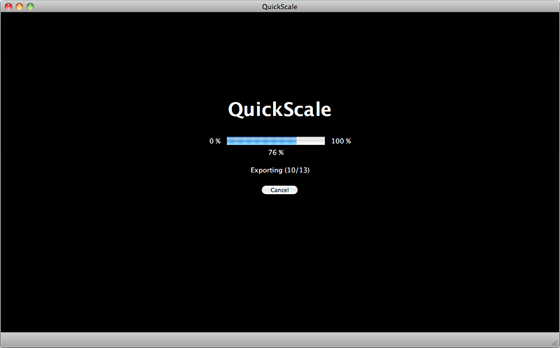 QuickScale - Scale many pictures in seconds screenshot