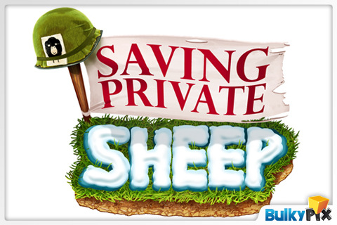 Saving Private Sheep By Bulkypix