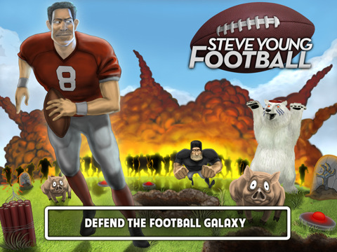 Steve Young Football HD By Vaporware Labs