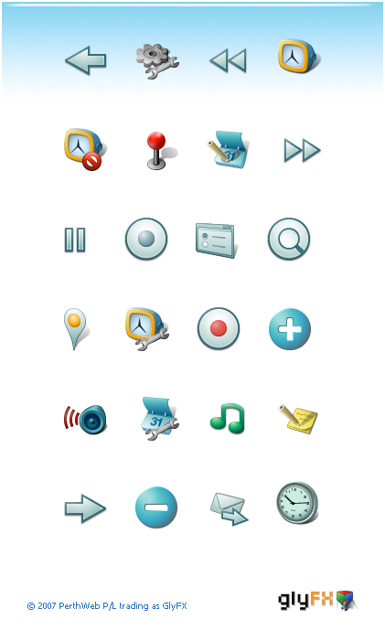 The Android Developer Common Icon Set