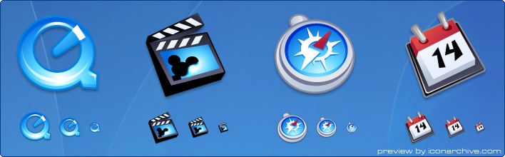 iComic Applications Icons by Fast Icon