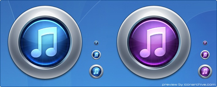 iTunes 10 Icons by ToffeeNut Design