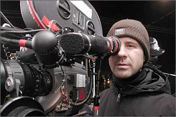 Filmmakers with big camera