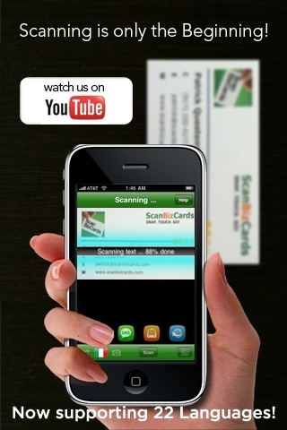 4 useful business card scanner apps for iphone enfew features reheart Gallery