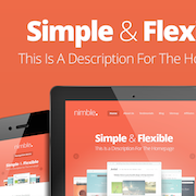 simple and flexible wordpress themes